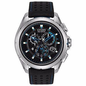 Citizen Eco-Drive Men's AT7030-05E Proximity Bluetooth Chronograph 46mm Watch
