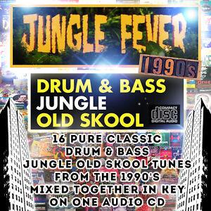 Jungle-Fever-DRUM-amp-BASS-JUNGLE-OLD-SKOOL-1990-039-s-dj-MIXED-CD-NEW-2018-MUSIC-MIX