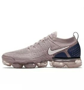 new style 53571 ee88d Details about Nike Air Vapormax Flyknit 2 Diffused Taupe Phantom Khaki Pink  Navy Men Size 15