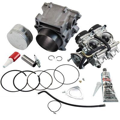 Carburetor Cylinder Piston Gasket Kit for Yamaha Raptor 660R 102mm Big Bore 2003