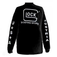 New Glock Apparel Sport T-shirt Long Sleeve Black Large Model# AP61505