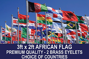 african country flag 3ftx2ft quality polyester flags choose your