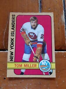 1972-73-opc-Tom-Miller-rookie-card-32-New-York-Islanders