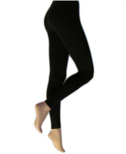 Silky Womens//Ladies Everyday Leggings Leggings In Three sizes M//L//XL in Black