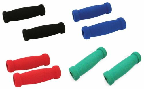 Handle Bar Grips Scooter BMX MTB Mountain Bike Bicycle Cycle Soft Foam Spare