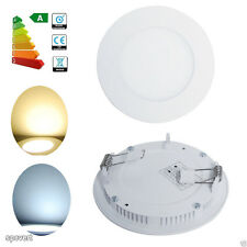 6W LED Panel Light Recessed Ceiling Downlight Lamp For Home Kitchen Bathroom W/C