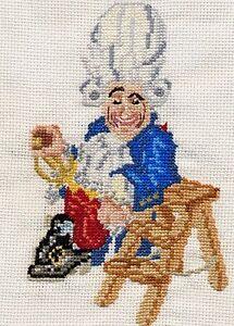Discworld Errol the Baby Dragon counted cross stitch kit//chart 14s aida