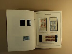 USPS Plate Block Album 400 Plus Items 1964 to 1980 Commeratives Definitives