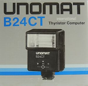 Blitz-Blitzlicht-Neu-Universal-Blitzgeraet-UNOMAT-B24-CT-Aufsteckblitz