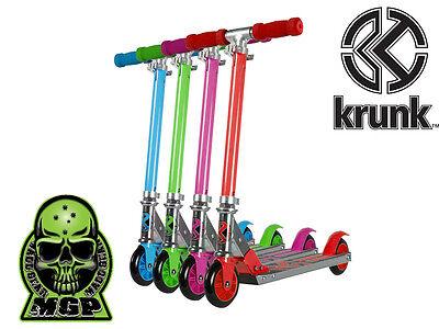 mgp krunk kinderroller stunt kickboard kinder scooter tretroller kick alloy kids ebay. Black Bedroom Furniture Sets. Home Design Ideas
