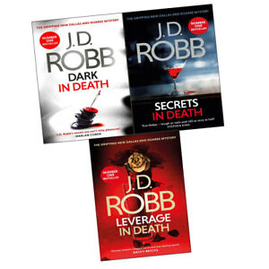 J D Robb Leverage In Death Collection Pack Set Secrets