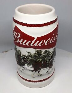 2016-Budweiser-Holiday-Stein-Christmas-Beer-Mug-from-two-years-ago-Annual-series