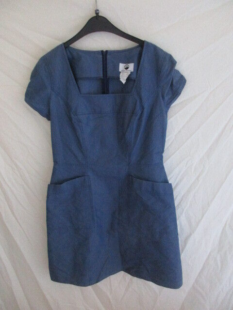 Robe vintage Thierry Mugler blue size 44