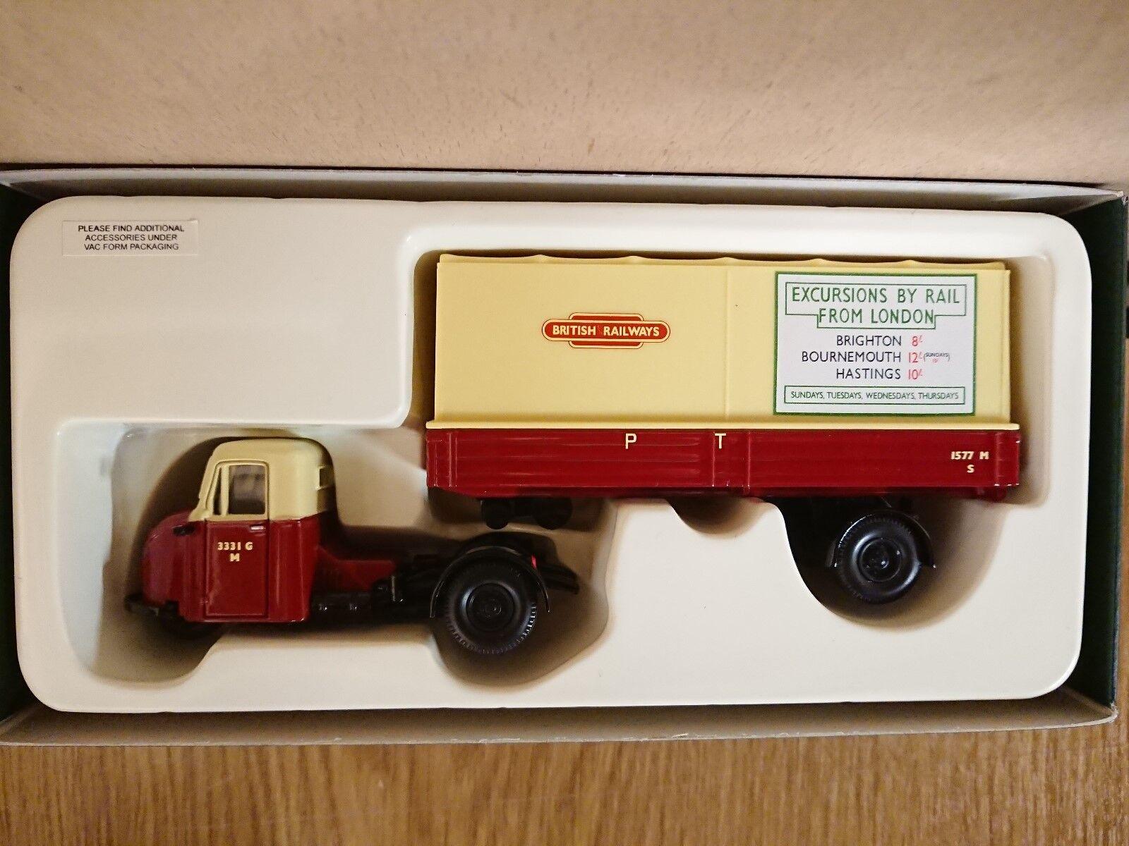 Corgi CC11301 Scammell Scarab British Rail Ltd Ed No. 0933 of 2000