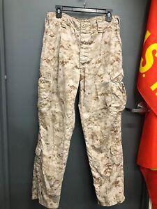USMC-Marines-Desert-Marpat-Frog-Combat-Assemble-Trouser-Pants-Large-Regular-L-R