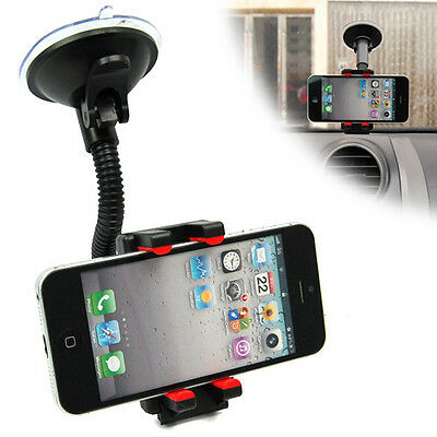 Universal Car Windshield Mount Stand Holder for Phone GPS iPhone 6 Plus 5S 5C 4S
