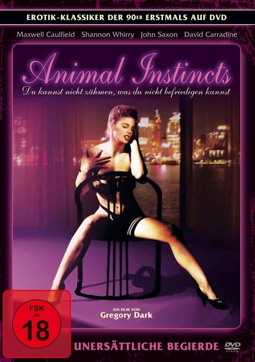 Dvd Animal Instincts Shannon Whirry Jan Michael Vincent Delia