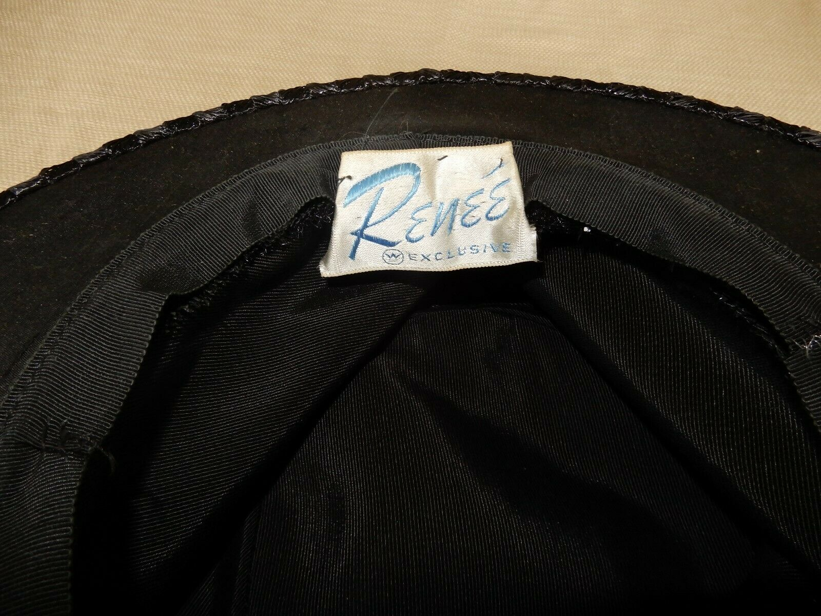Vintage Exclusives by Renee black cellophane stra… - image 9