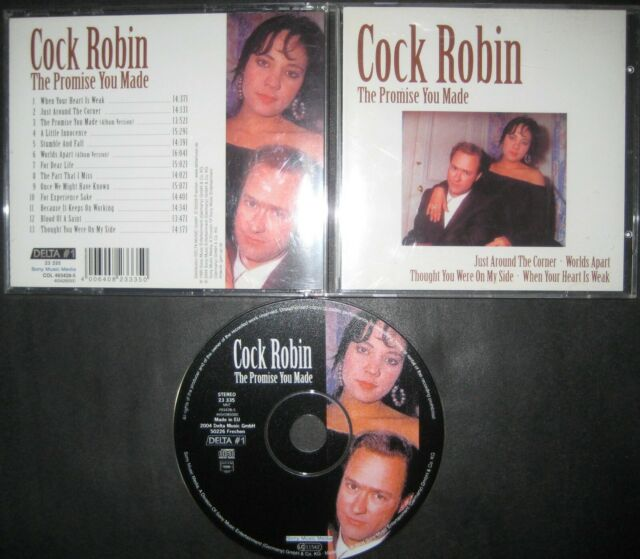 CD Cock Robin – The Very Best Of Greatest Hits  promise you made - Cure Bangles