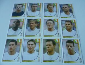 Panini World Cup 2002 stickers Ireland Mint from packets Rare Black Backs