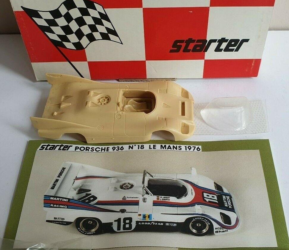 Porsche 936 Martini – Joest, Le Mans 1976, Starter Kit 1 43
