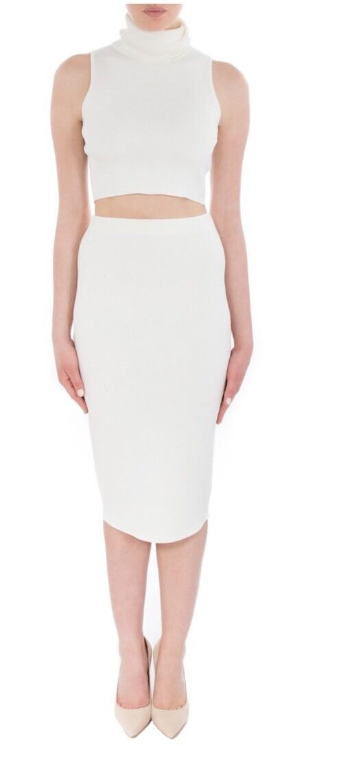 Cameo Sober Thoughts Skirt - Ivory - XS