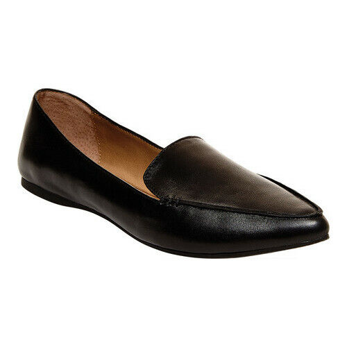 Feather Loafer Flat Rose Gold