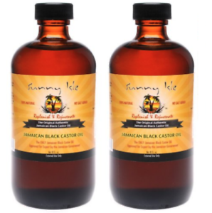 Sunny Isle™ Jamaican Black Castor Oil 2oz Skin and Hair Care Product Set of 2