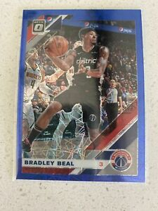 2019-20-Donruss-Optic-Bradley-Beal-Blue-Velocity-Prizm-Holo-Wizards-109