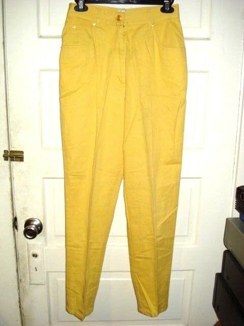 Apart Womens Jeans Size 8 Yellow