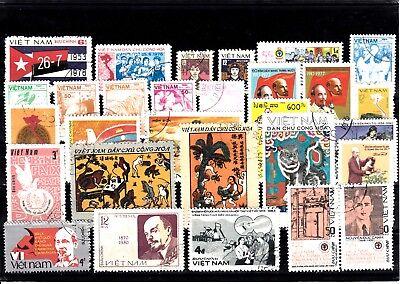 AnpassungsfäHig Lot Briefmarken Stamps Vietnam O (927)