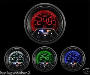 Calibrador-de-presion-Herramienta-PROSPORT-EVO-52mm-Temperatura-Aceite-Digit