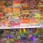 100pcs Pokemon TCG MEGA Gold Flash Shiny Trading Card Holo&Rare EX Full ART BB