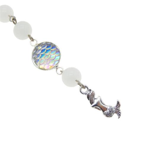 1 Pieces Handmade Colorful Metal Mermaid Fish Scale Crochet Cheveux Broche Clips Bijoux