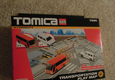 Tomica Hypercity USA Set Toyota Probox Mitsubishi Fuso Bus In Box Ships from USA