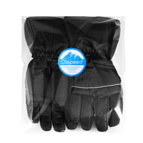Men/'s Battery Powered Touch Screen Winter Hand Warm Heated Gloves Touch Screen