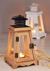Lanterne en Bois avec Porte-Bougies Bougie Lanterne Décoration de ...