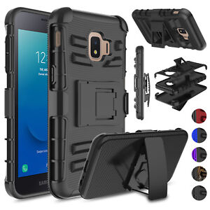 quality design c5b70 3d1e6 Details about For Samsung Galaxy J2 2019/J2 Core/Dash/Pure Holster Stand  Belt Clip Case Cover