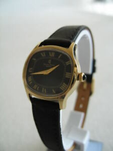 NOS NEW VINTAGE SWISS GOLD PLATED HAND WINDING CHARLES ANDRE WOMEN'S WATCH 1960