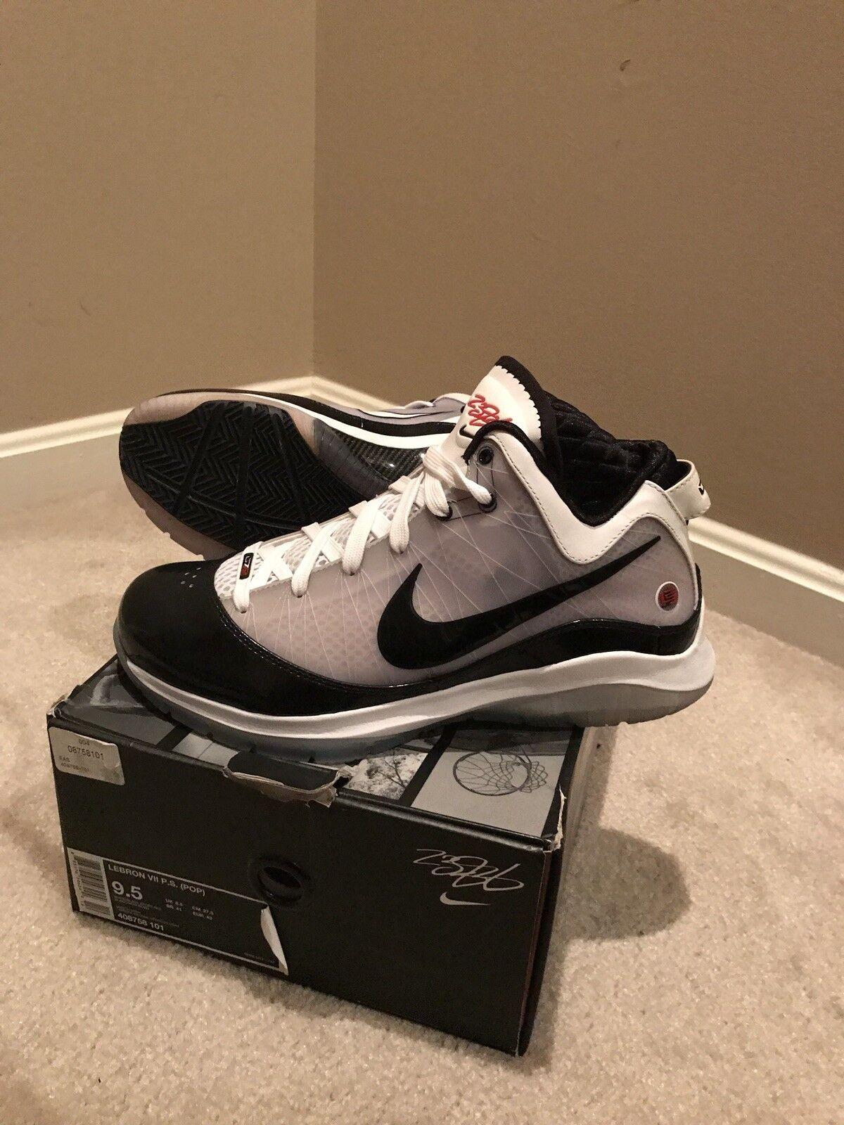 Nike Lebron 7 9.5 vii elite playoffs 9 China Miami Heat championship pack 16 9 playoffs x 1 301b31