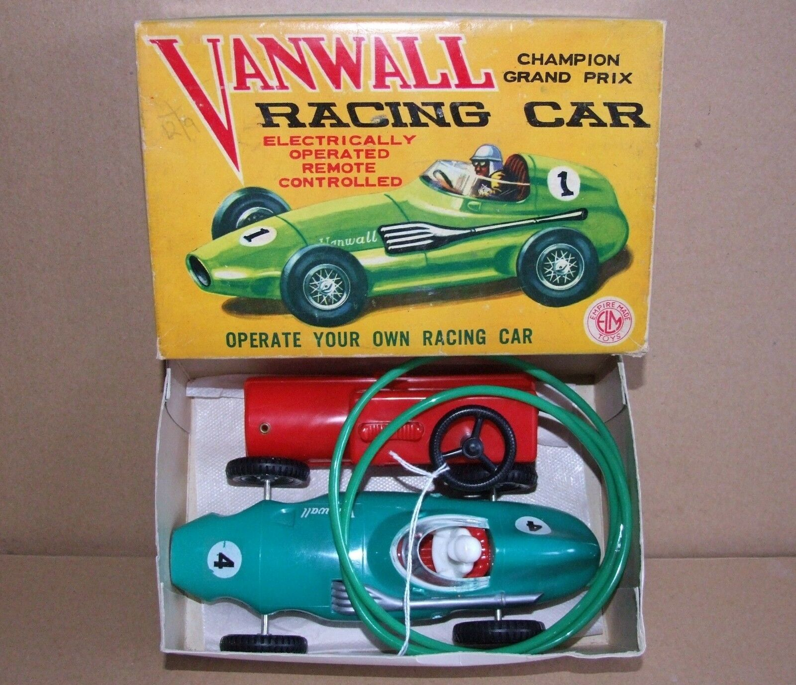 Elm (Hong Kong) VANWALL Battery Operated Racing Car