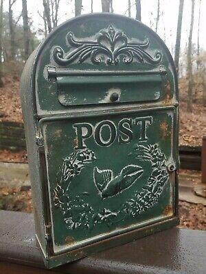 Pecho De Madera Estilo Vintage Cofre Post Office Box Bethnal Green Rústico asas de cuerda