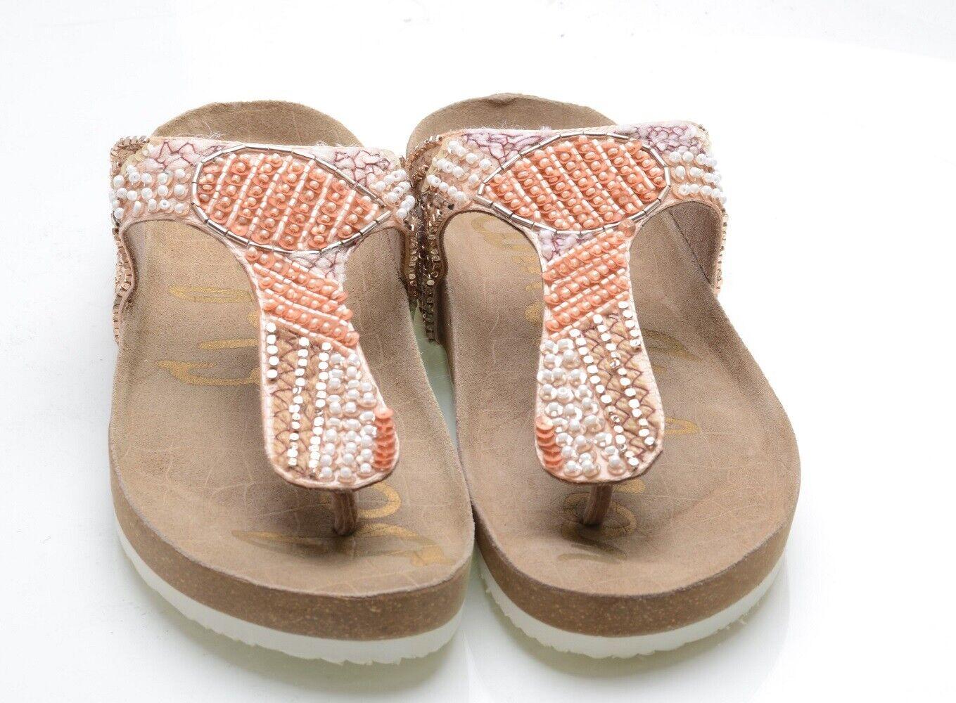 Slide Sandal, Blush/Rose Gold/Multi