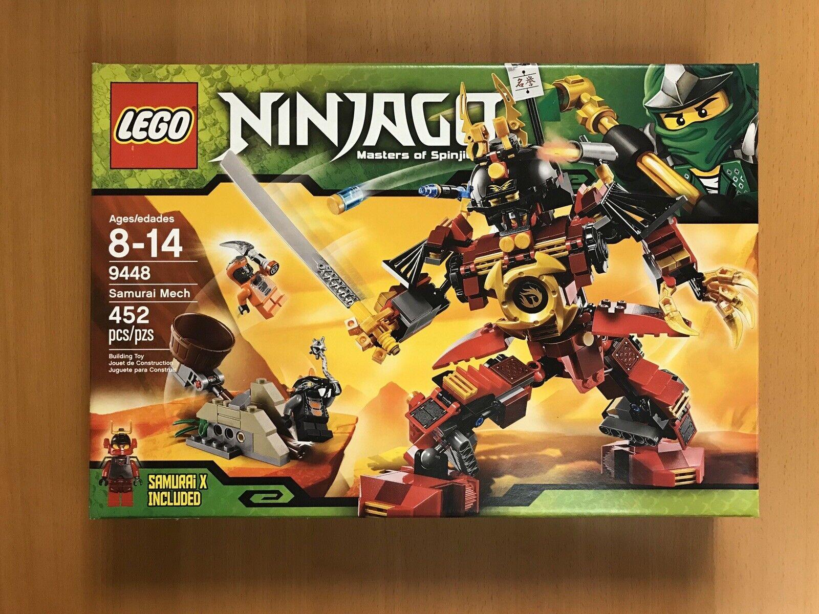 Lego 9448 Ninjago Samurai Mech