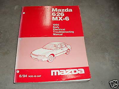 1995 Mazda 626 Mx 6 Mx6 Body Electrical Service Repair