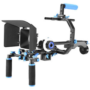 Neewer-Film-Movie-Video-Making-Systeme-DSLR-Shoulder-Rig-pour-Canon-Nikon-Sony