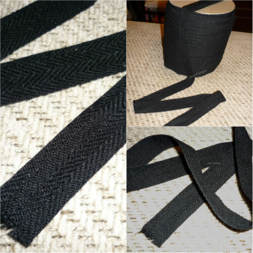 Cotton 24mm Herringbone Craft Apron Twill Dressmaking Sewing Bunting Free P/&P