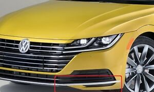 Neuf-Original-VW-Arteon-Avant-Pare-Choc-Chrome-Bord-Moulure-Gauche-3G88532532ZZ