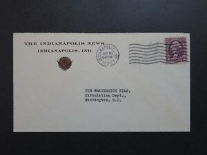 US-1933-The-Indianapolis-News-Cacheted-Cover-Z9136