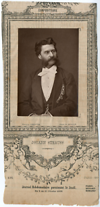 Lemercier, Paris, Johann Strauss II, dit Johann Strauss fils (1825-1899) Vintage